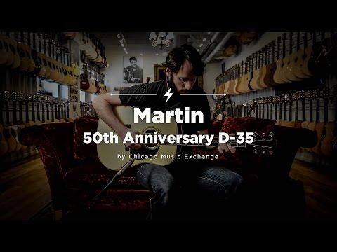 Quick Riffs: Martin 50th Anniversary D-35 Acoustic Guitar