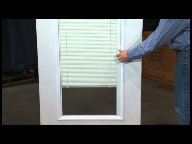 magnet operator on enclosed blinds
