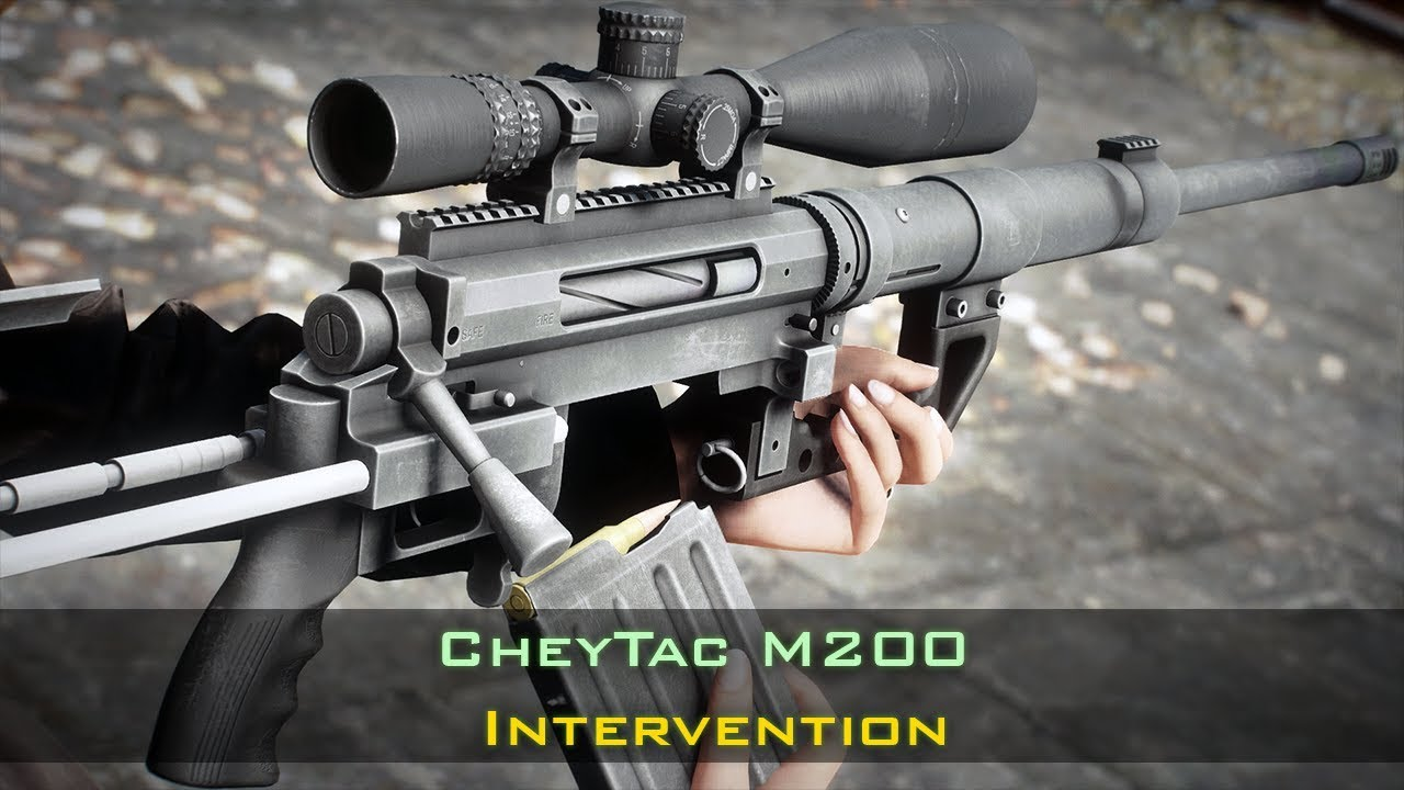 Fallout 4 CheyTac M200 (Intervention)