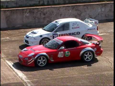 Motor Racing in the 2000s at Wallerfield, Trinidad - Part 1