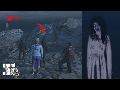 What Happens If You Take Michael's Family To The Ghost Location in GTA 5? (Hidden Secret)