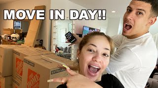 WE FOUND A HOUSE!! *move in day