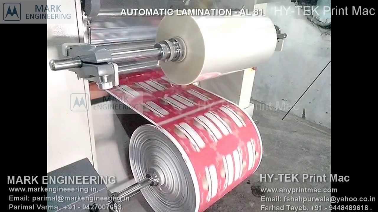 Lamination Lamination Machine Automatic Lamination