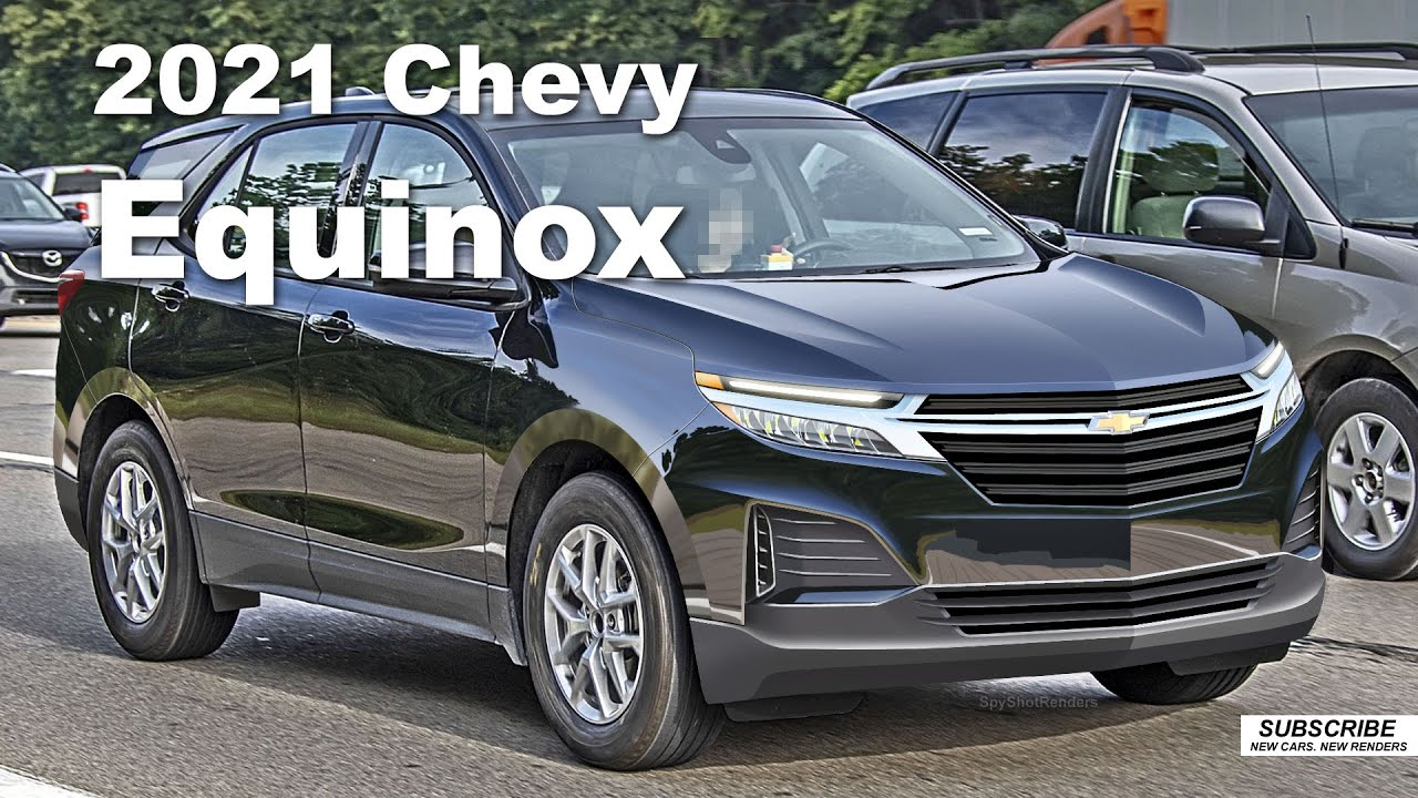 2021 Chevy Equinox - Spy Shot Render Preview - YouTube