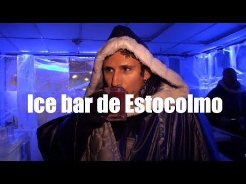 Stockholm Ice Bar - Sweden, Ice Bar Estocolmo - Suecia