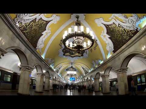 Станция метро Комсомольская / Площадь трёх вокзалов