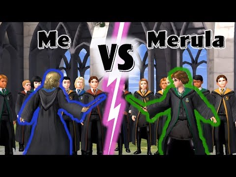 Me VS Merula Duel | Year 1 | Harry Potter Hogwarts Mystery