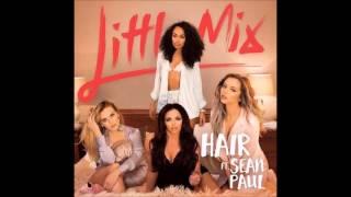 Gambar cover Little Mix ft. Sean Paul - Hair (Audio)