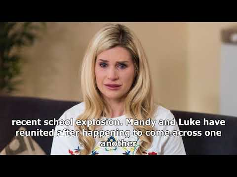 Mandy Discovers Lukes Secret Hollyoaks Family?