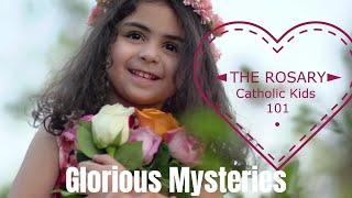 ROSARY! Glorious Mysteries - Catholic Kids 101