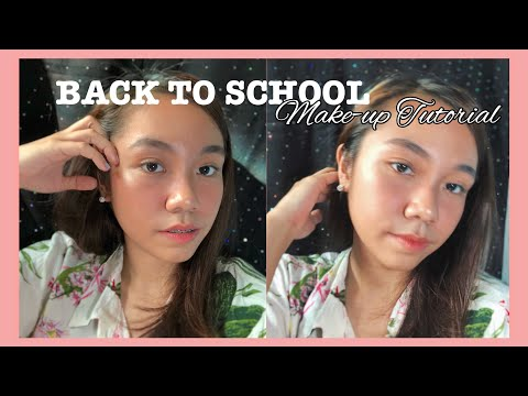 BACK TO SCHOOL MAKE UP TUTORIAL (LESS THAN 500 PESOS) thumbnail