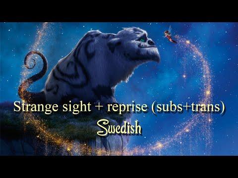 Strange sight + reprise - Swedish (Subs+trans)