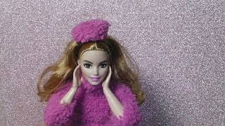 DIY Barbie Clothes// Christmas special//How To Make Barbie Winter Outfit//Made To Move Barbie