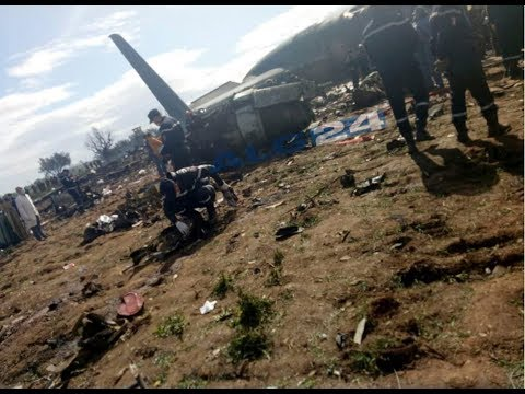 Scores dead in Algeria military plane crash