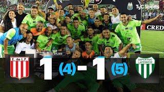 Estudiantes 1 (4) - 1 (5) Laferrere - Copa Argentina 2020 - 32avos de final