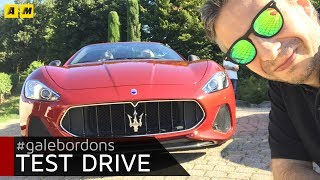MASERATI GranTurismo MODELLO 2018. CHE SOUND!  [ENGLISH SUB]