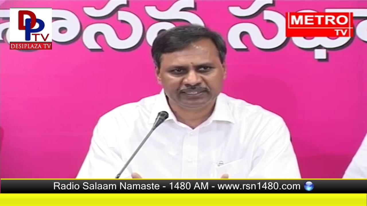 TRS WHIP Palla Rajeshwar Reddy fires on Telangana Congress Leaders | Political Satires | DesiplazaTV