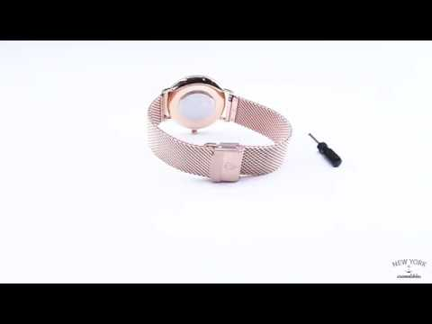 How to adjust: the Mesh watch strap for women!
