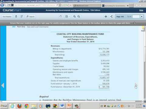 Government & Non-Profit Accounting: Accounting for Business-Type Activities of Governments