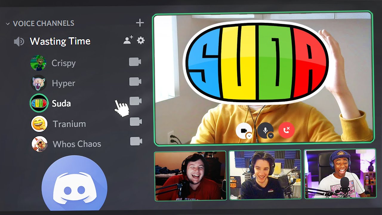 Discord.. but we turned our cameras on