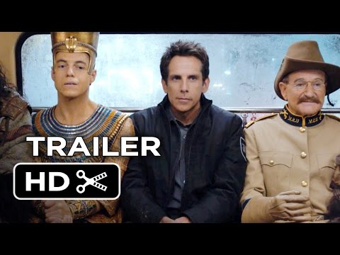 Night at the Museum: Secret of the Tomb Official Trailer #1 (2014) - Ben Stiller Movie HD