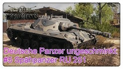 Deutsche Panzer ungeschminkt: #5 Spähpanzer RU 251