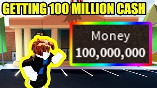 GETTING *100 MILLION* CASH as BACON HAIR in ROBLOX JAILBREAK!!!