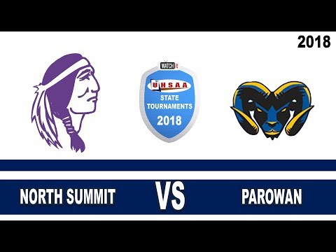 2A Boys Basketball: North Summit vs Parowan High School UHSAA 2018 State Tournament Quarterfinals