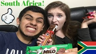 Bf and gf try south african candy!!!