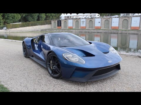 2016 New Ford GT! Start Up, REVING! SOUND!
