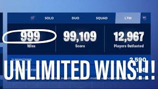 *NEW* UNLIMITED WINS GLITCH in Fortnite!! Get Wins in SECONDS!