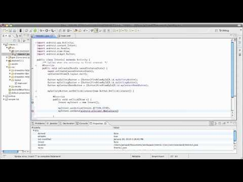 android software development video tutorial