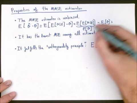 (SP 16.3) The Minimum MSE (MMSE) Estimator