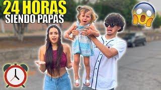 24 HORAS SIENDO PAPÁS | LOS PAPÁS PERFECTOS (HotSpanish Vlogs)