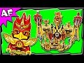 Lego Chima Flying PHOENIX FIRE TEMPLE 70146 Stop Motion Build Review