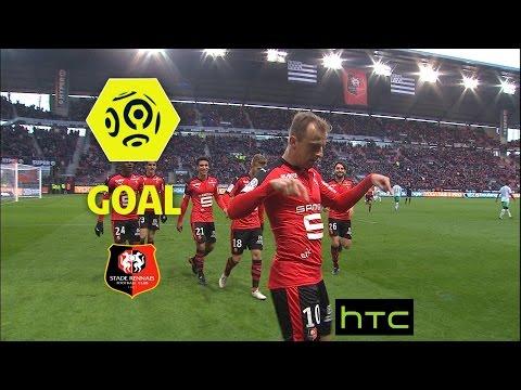 Goal Kamil GROSICKI (90' +2) / Stade Rennais FC - AS Saint-Etienne (2-0)/ 2016-17