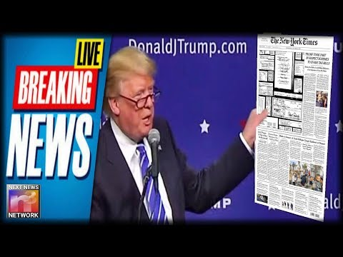 BREAKING: President Trump Delivers BAD NEWS To NYT After DESPICABLE Smear Job On His Own Father!