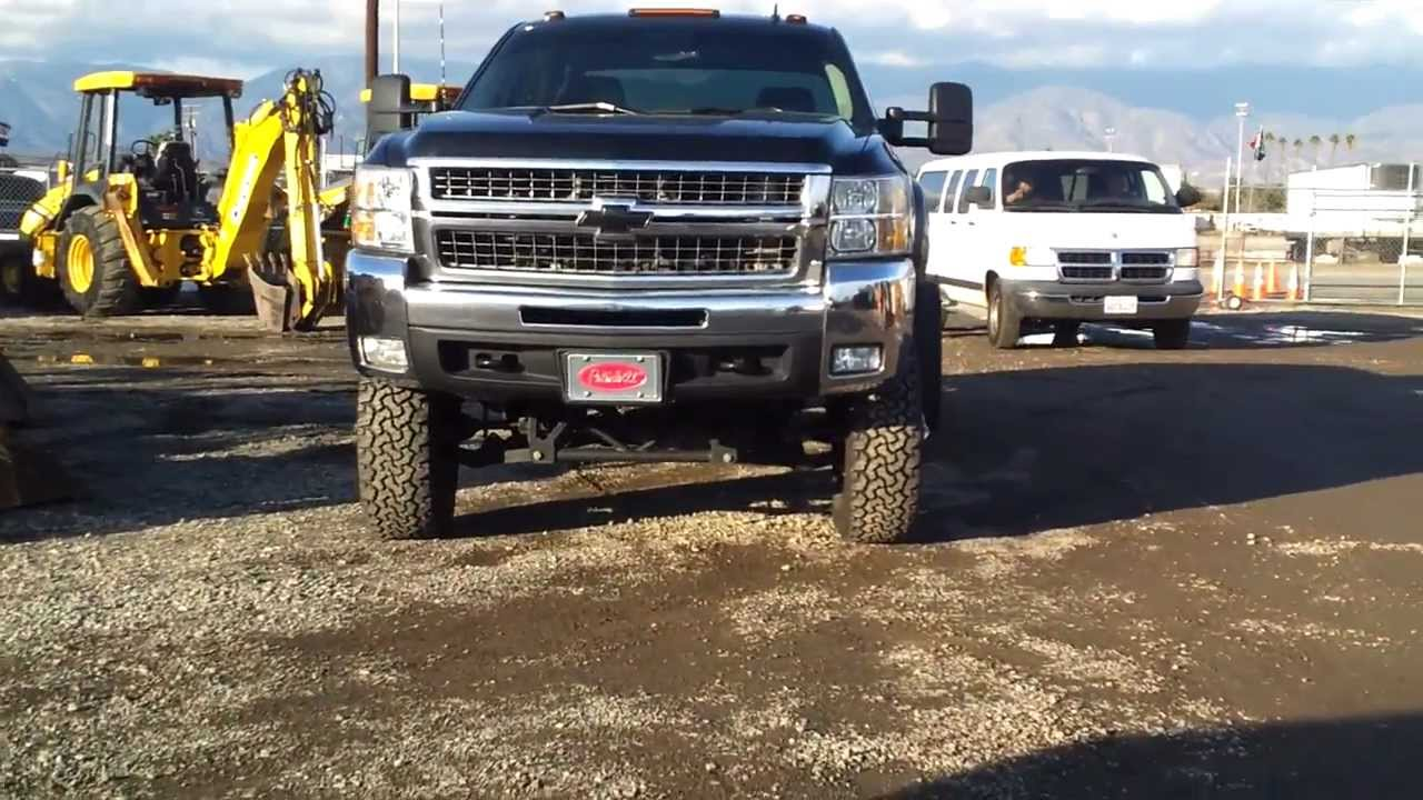 2013 Chevy Silverado 3500 Lifted - YouTube