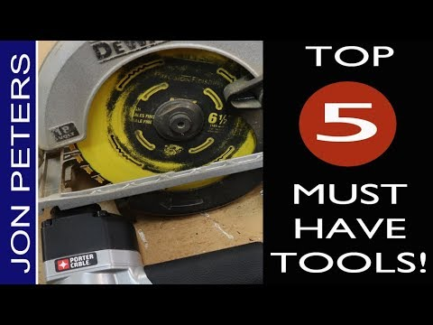 top-5-must-have-tools-for-woodworking---diy-home-improvement