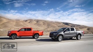 2019 Ford Ranger vs. 2018 Toyota Tacoma: Real-World Test — Pickuptrucks.com