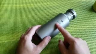 Бутылка титановая -