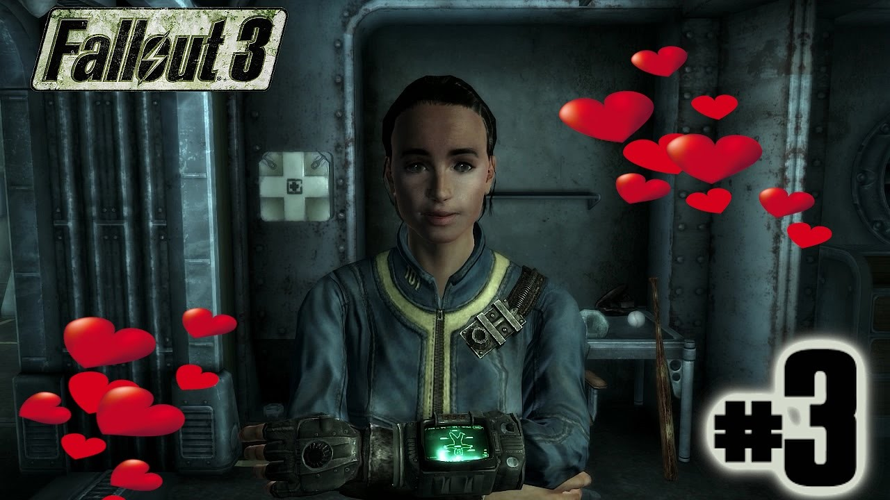Fallout 3 Walkthrough Part 3 - SEXY AMATA!