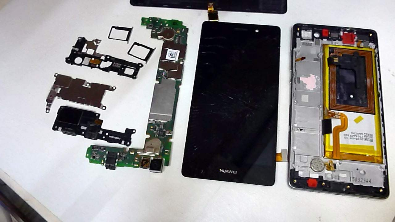 Schemi Elettrici Huawei : Huawei b8 lite disassembly how to change screen youtube