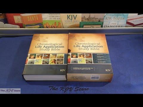 KJV Chronological Life Application Study Bible - YouTube