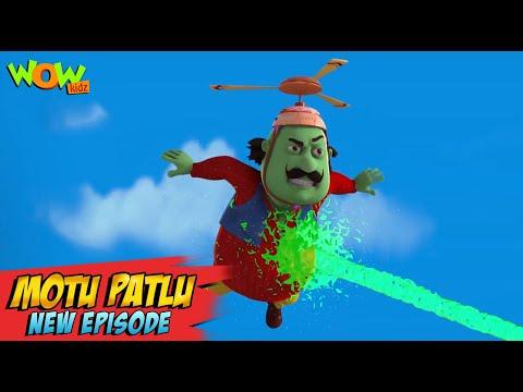 Motu Patlu New Episodes 2021 | Cyrus Ka Virus | Funny Stories | Wow Kidz