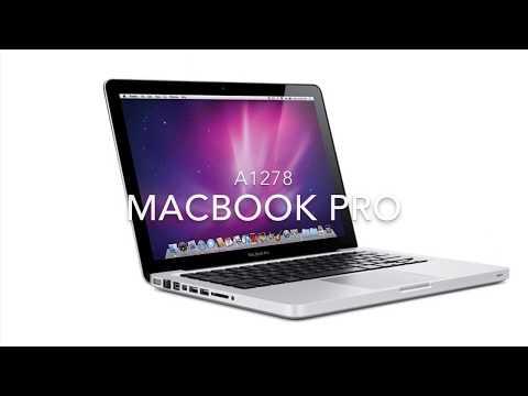 Réparation -MacBook Pro A1278