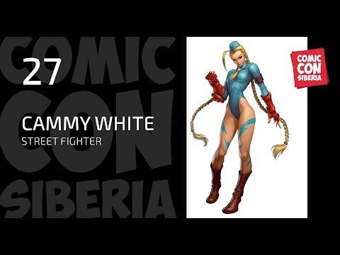 Одиночное дефиле Comic Con Siberia 2017 - Cammy White (STREET FIGHTER)
