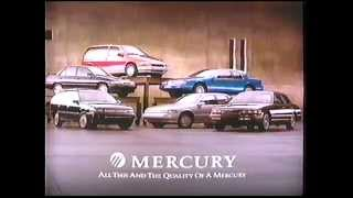 1994 Mercury Cars Commercial thumbnail