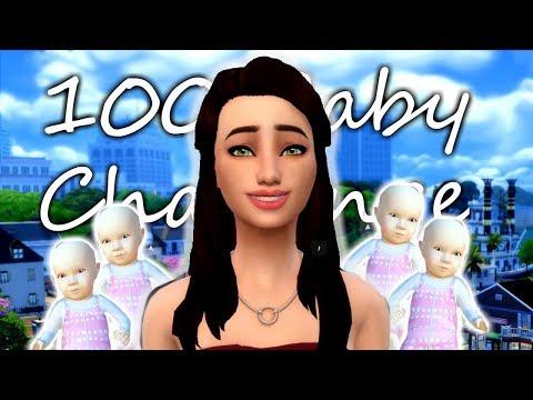 PREGNANCY AND BURGLARS  | Sims 4 | 100 Baby Challenge | Episode 1