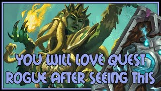 You will LOVE quest rogue after seeing this | The Witchwood | Hearthstone